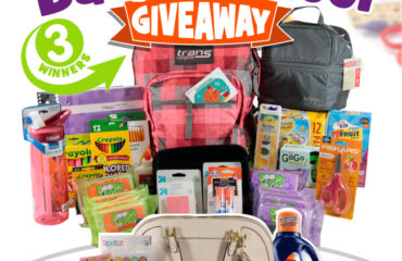 Fresh Families Back to School Giveaway ($200 Value)