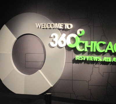 Amazing Views at 360 Chicago!