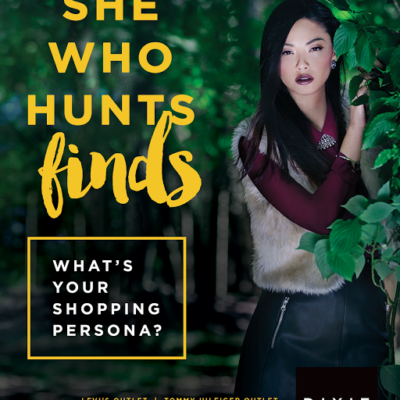 """She Who Hunts Finds"" Blogger Challenge with Dixie Outlet Mall!"