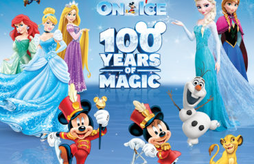 The Winner of the Disney On Ice Tickets is……..