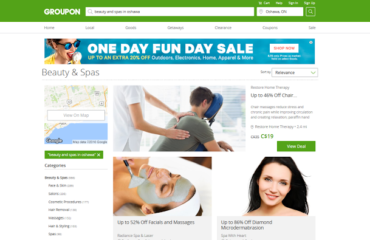 Getting Pampered Thanks to Groupon!
