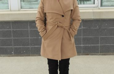 Camel Winter Coat