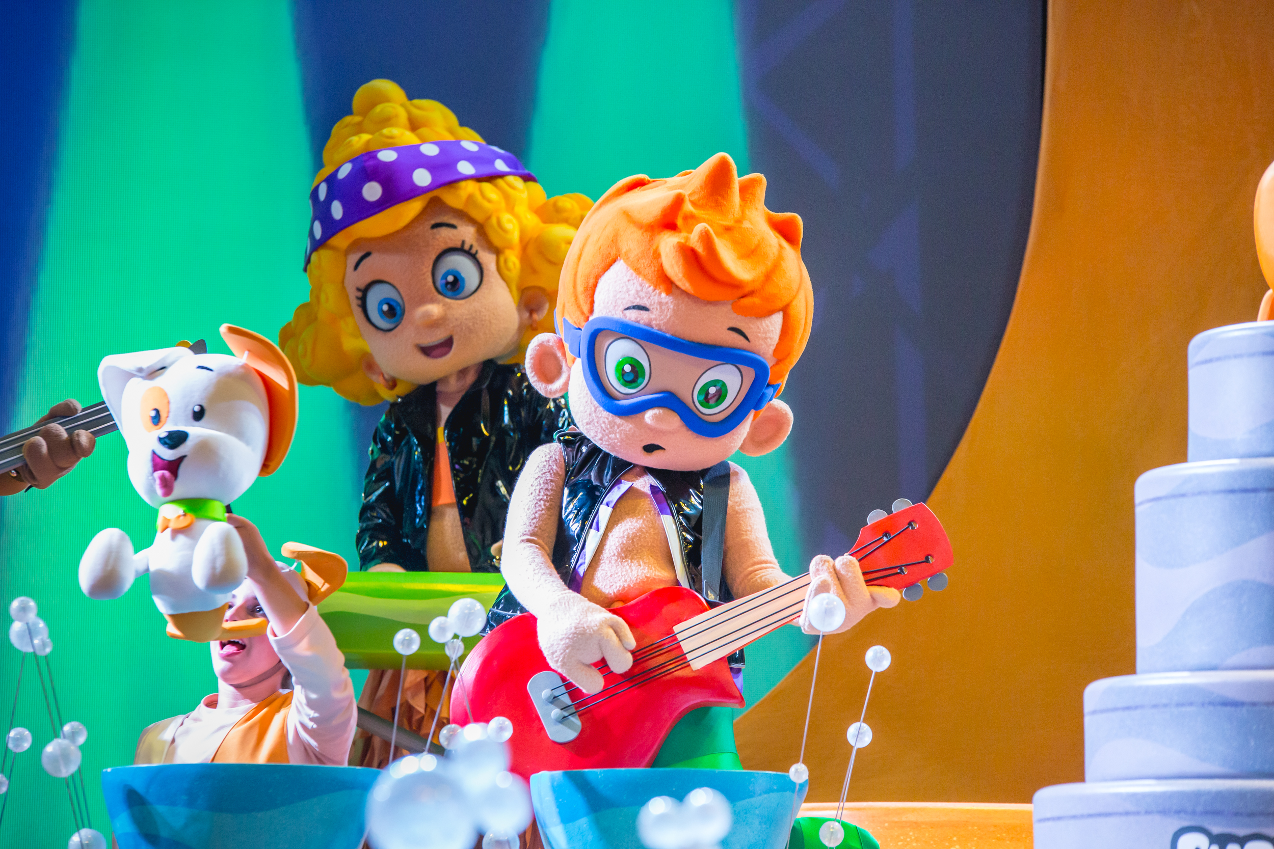 Bubble Guppies LIVE! Ready to Rock is on Tour!