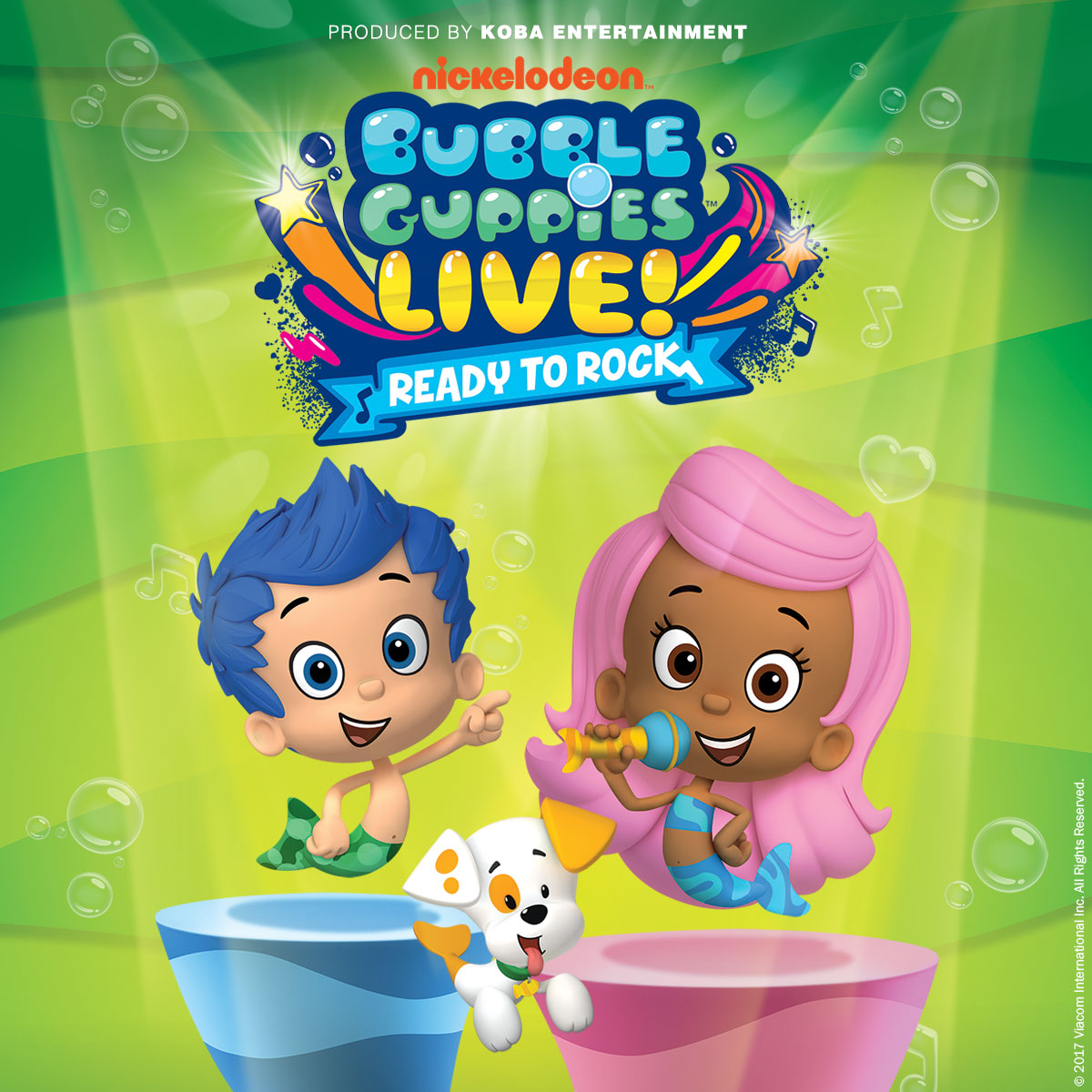 bubble guppies live ready to rock is on tour
