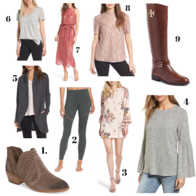 My Favourites from the Nordstrom Anniversary Sale!