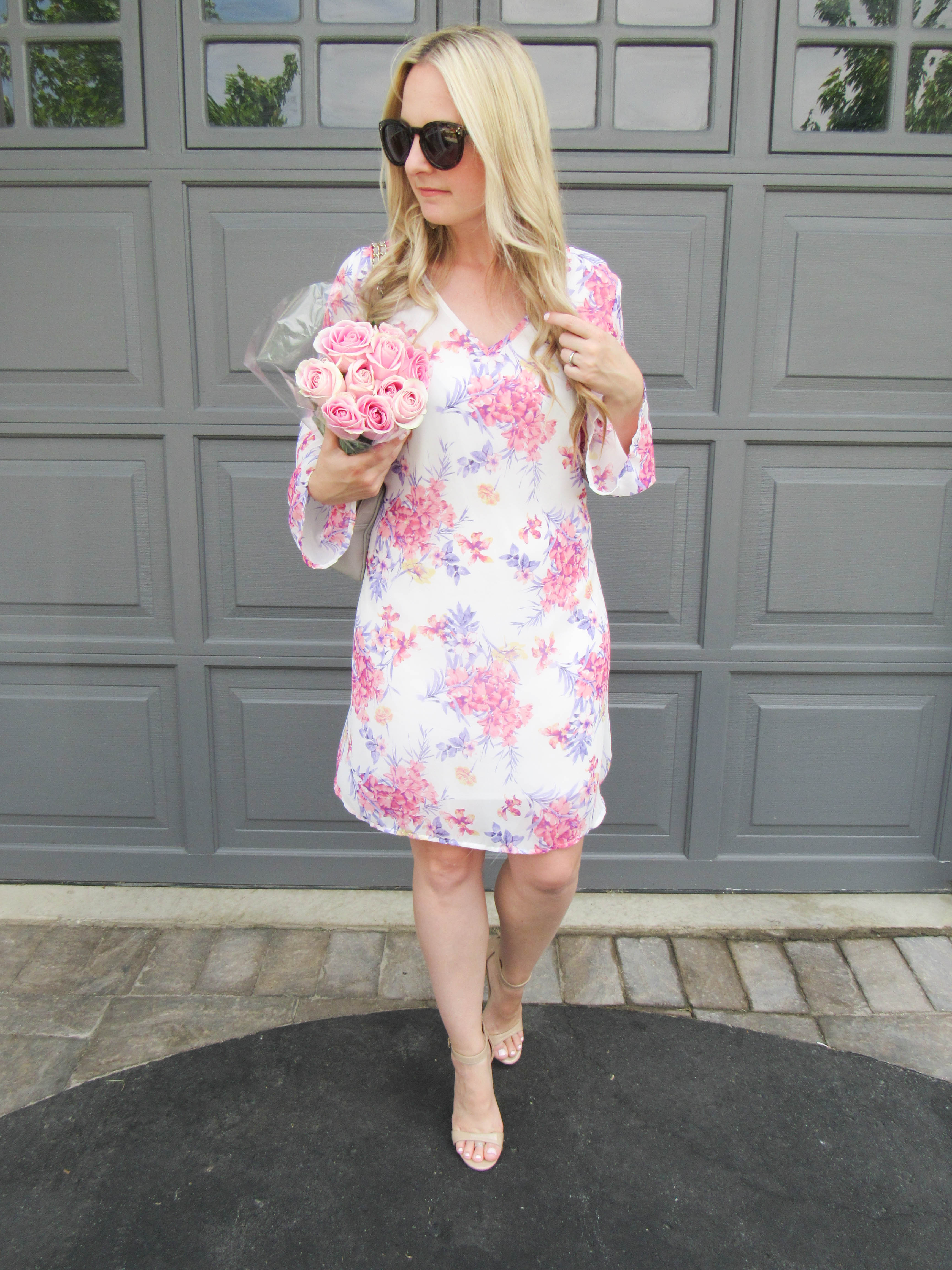 Pink Blush Dress on Livin; Life with Style