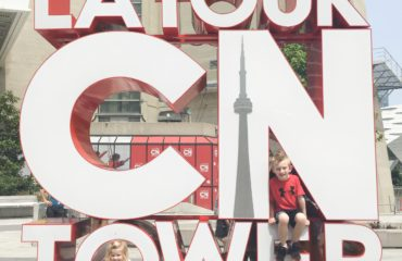 Our visit to the CN Tower!