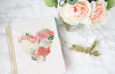 Staying Organized with the Erin Condren LifePlanner!