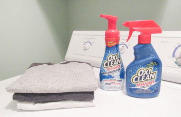 No More Stains Thanks to OxiClean™!