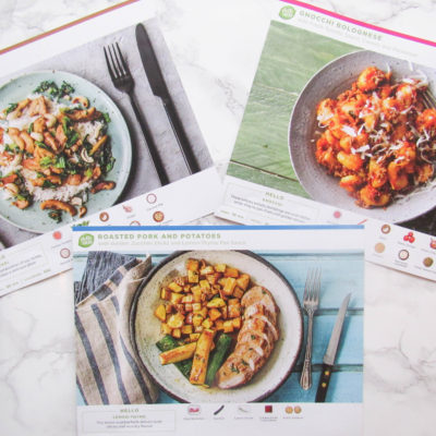 Quick Meals with Hello Fresh!
