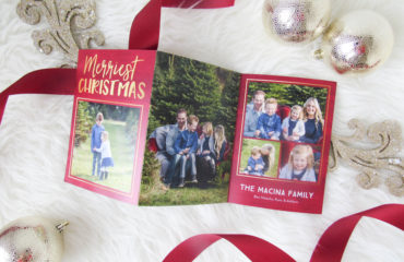 Our Christmas Cards with Shutterfly