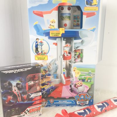 Toy Review: Air Hogs Micro Race Drone & PAW Patrol My Size Lookout Tower