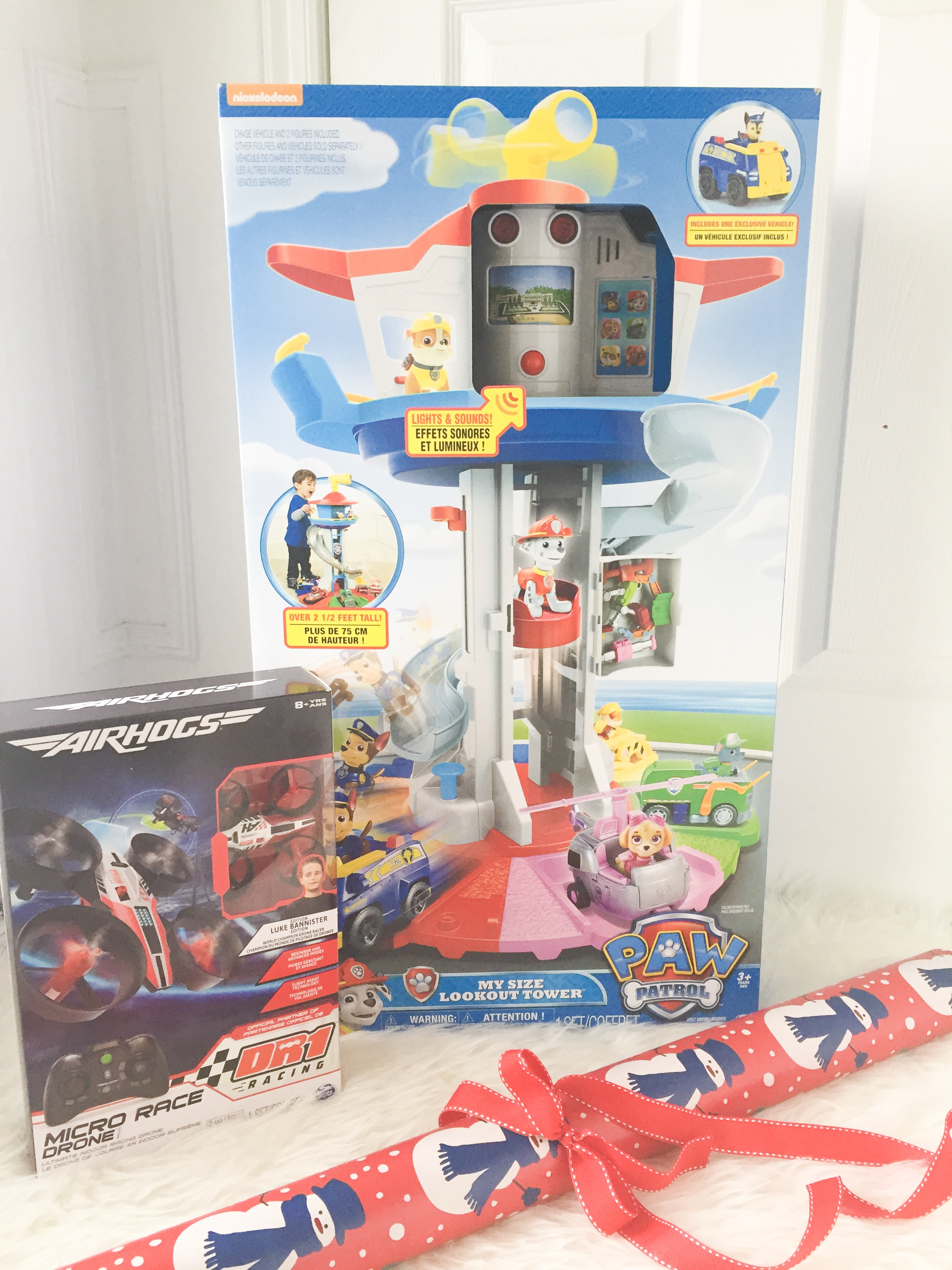 Toy Review: Air Hogs Micro Race Drone & PAW Patrol My Size