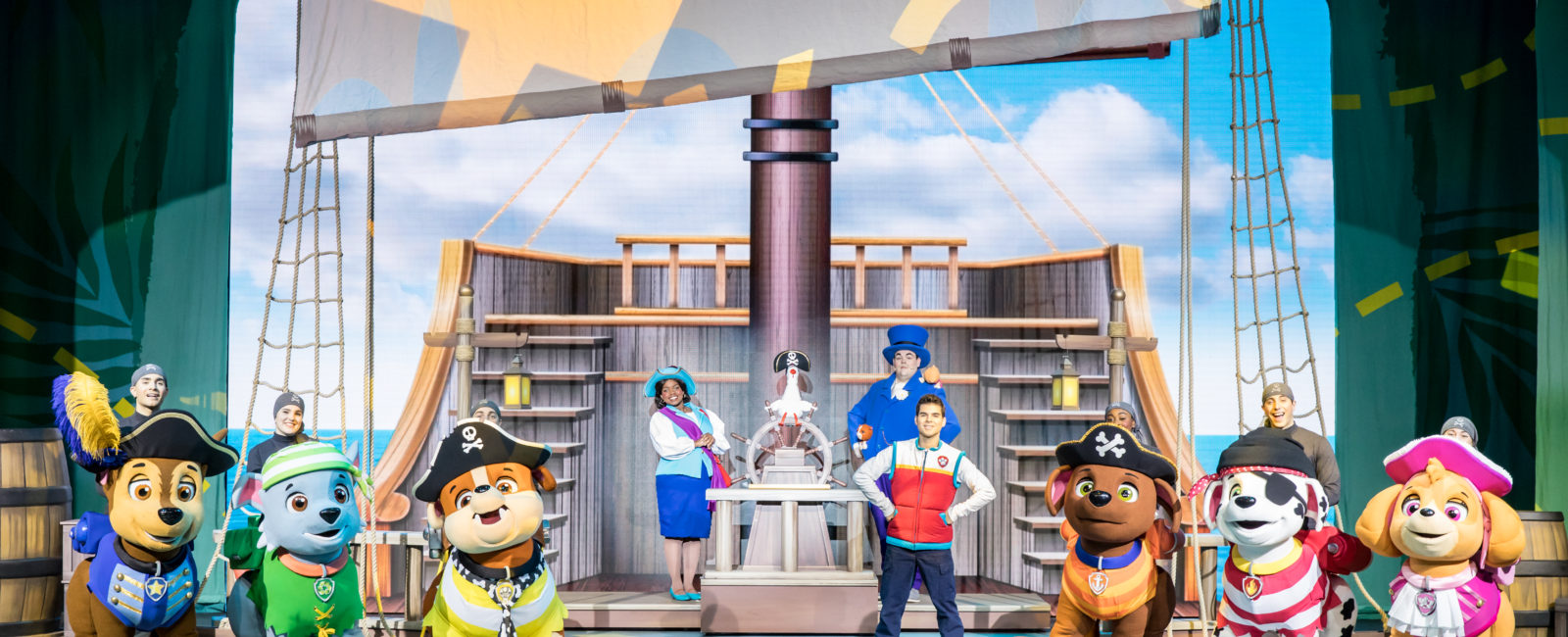 """PAW Patrol Live! """"The Great Pirate Adventure"""" in Toronto! (Giveaway)"""