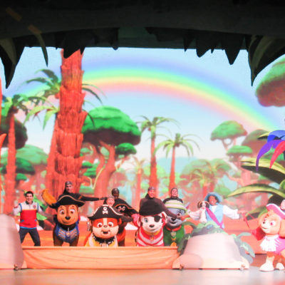 "Our night at PAW Patrol Live! "" The Great Pirate Adventure"
