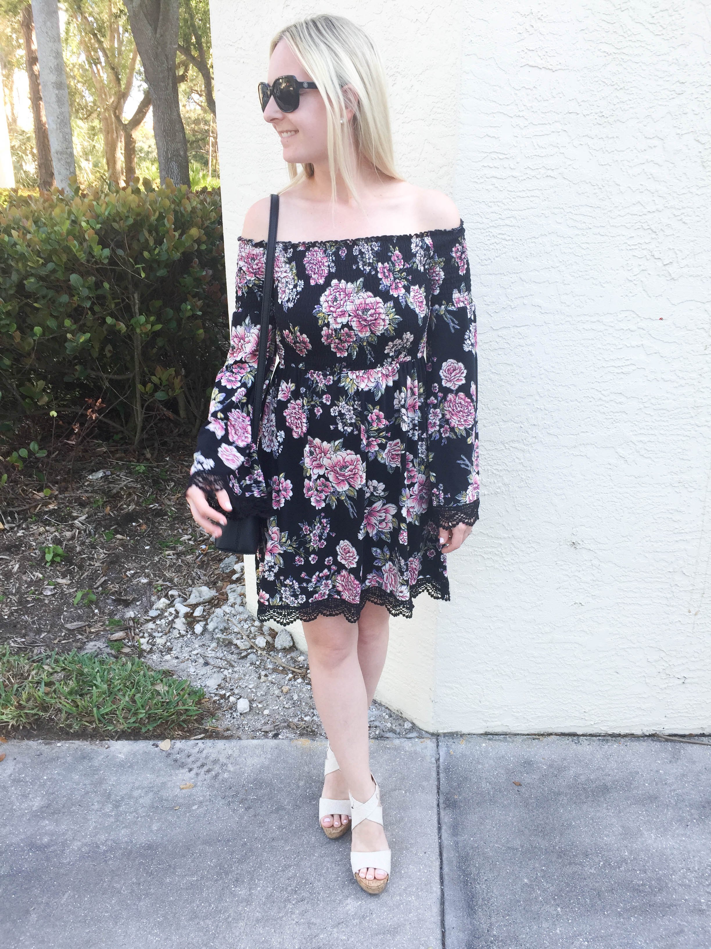 Target Off the Shoulder Dress on Livin' Life with Style