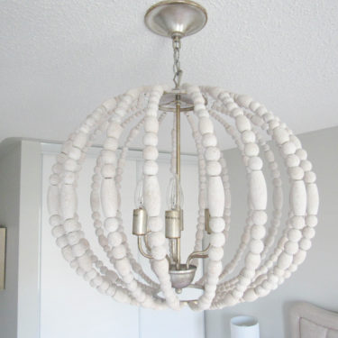 6LT Wooden Chandelier on Livin Life with Style- Universal Lamp