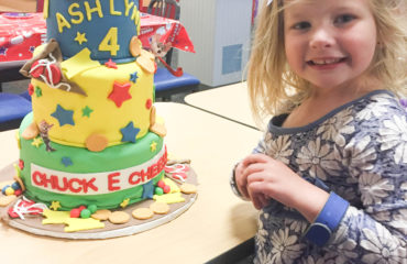 A Toddler's Birthday Party at Chuck E. Cheese!