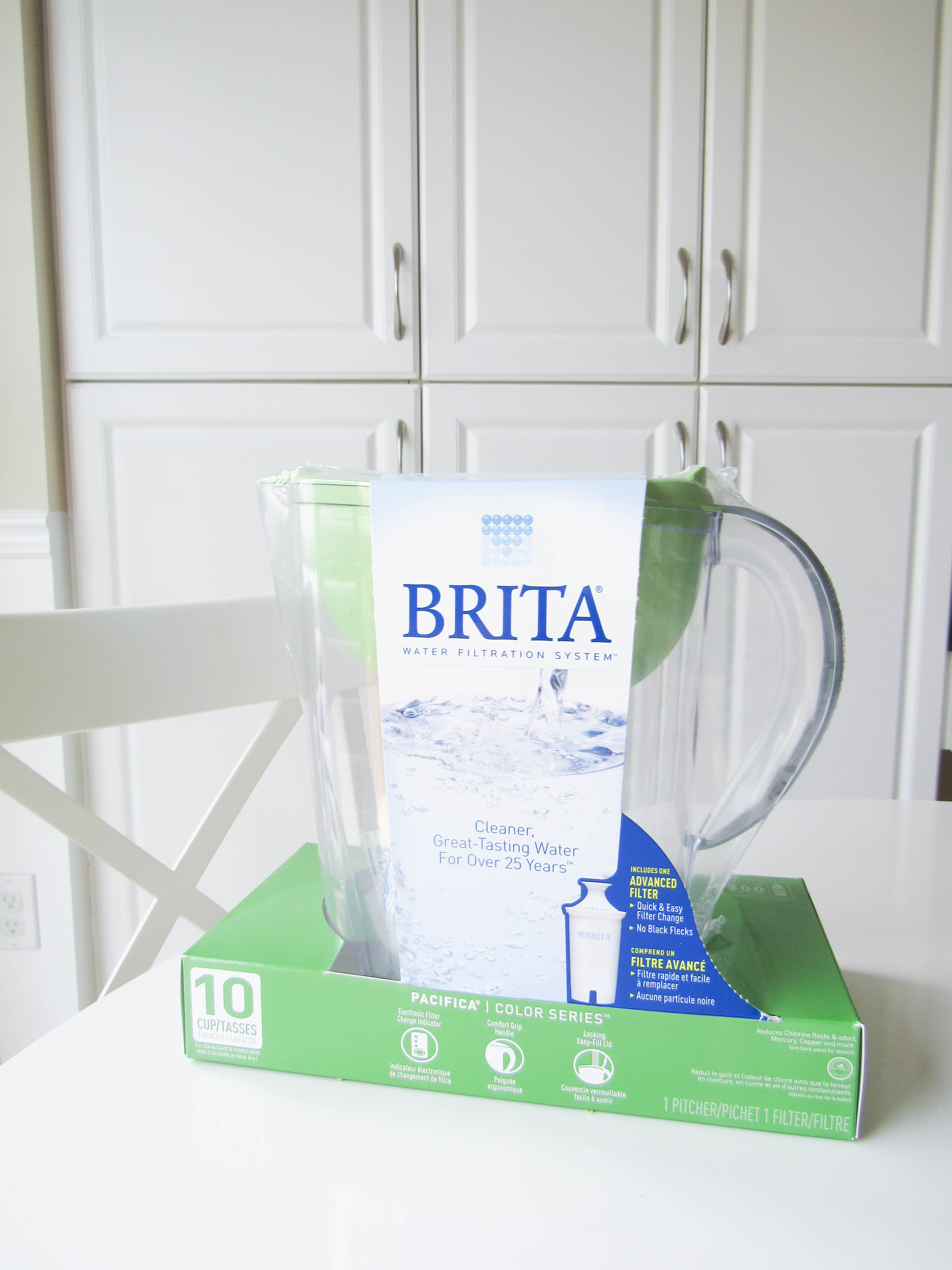 Brita water- livin' life with style
