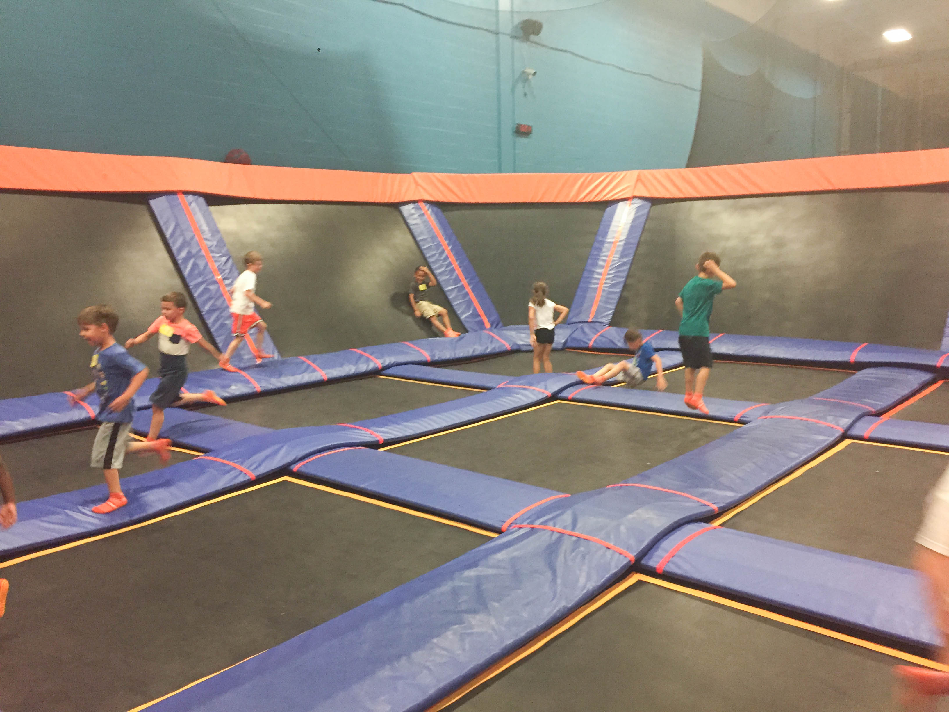 Sky Zone Trampoline Park Birthday Party; Livin' Life with Style