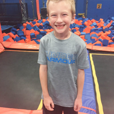 Jumping into a fun-filled birthday at Sky Zone!