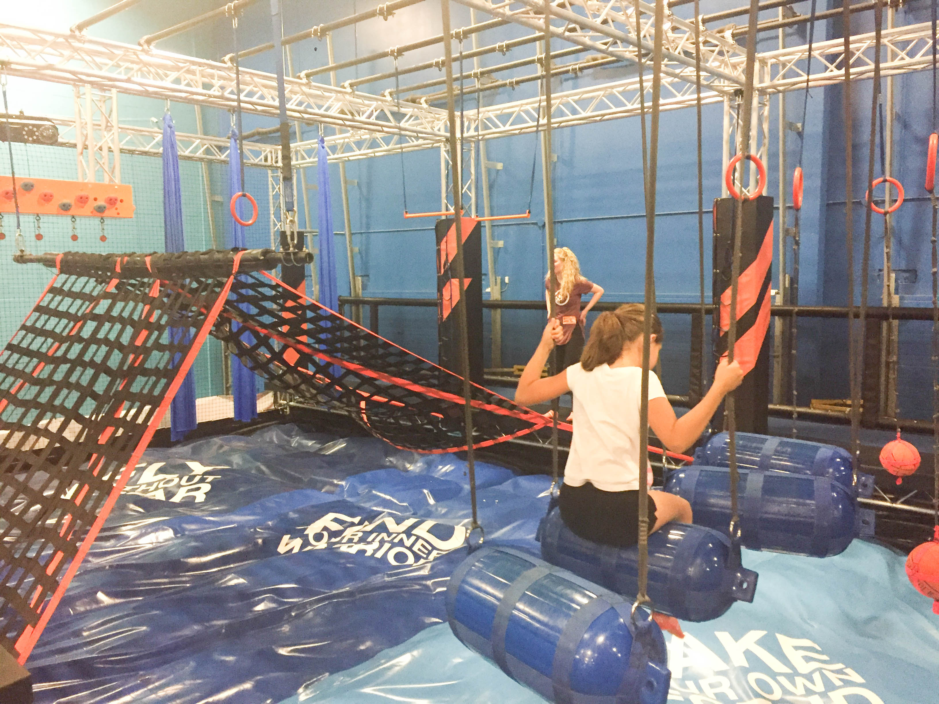 Sky Zone Trampoline Park Birthday Party;Ultimate Warrior Course ; Livin' Life with Style