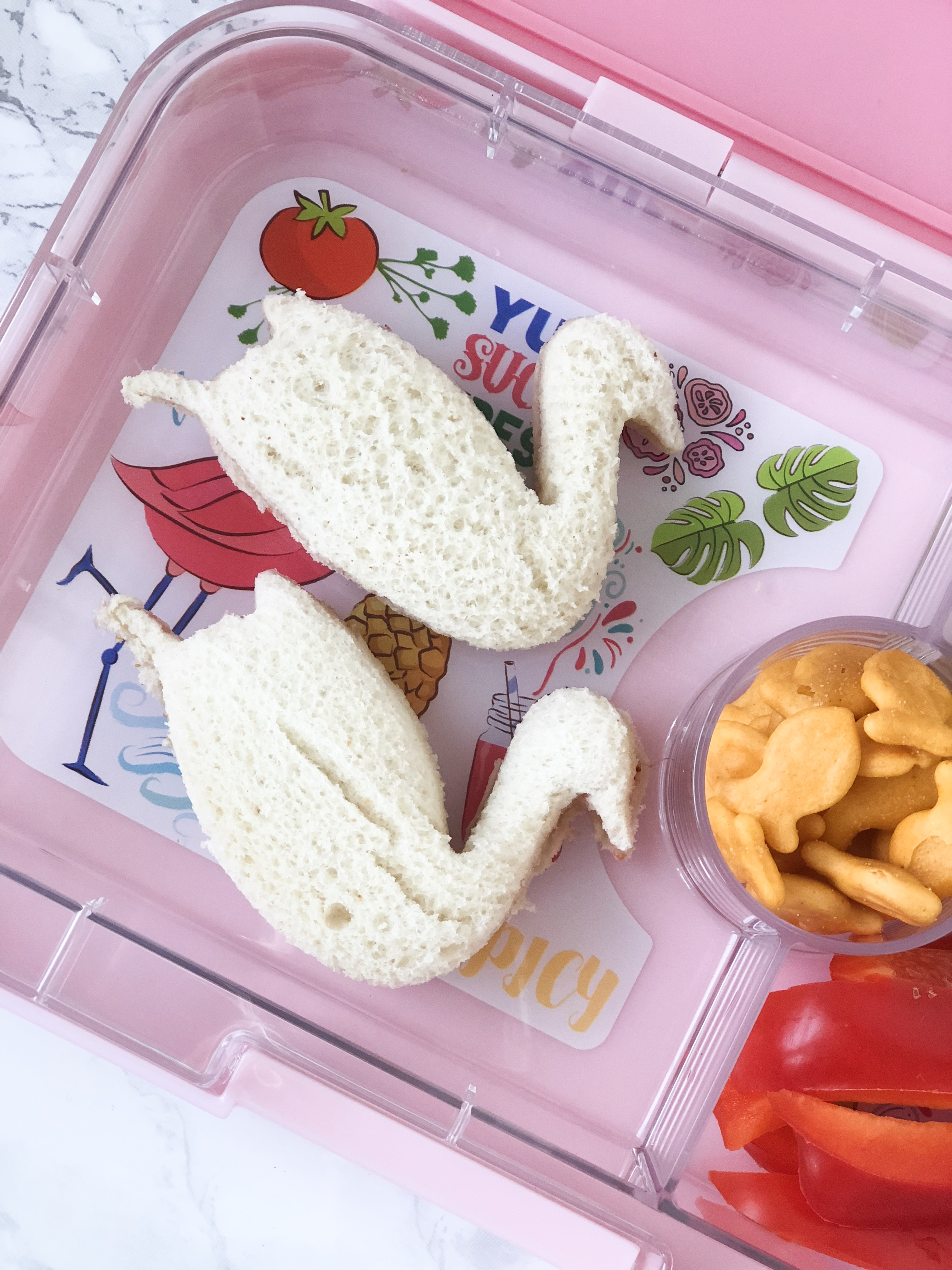 Back to school lunches on livin' life with style