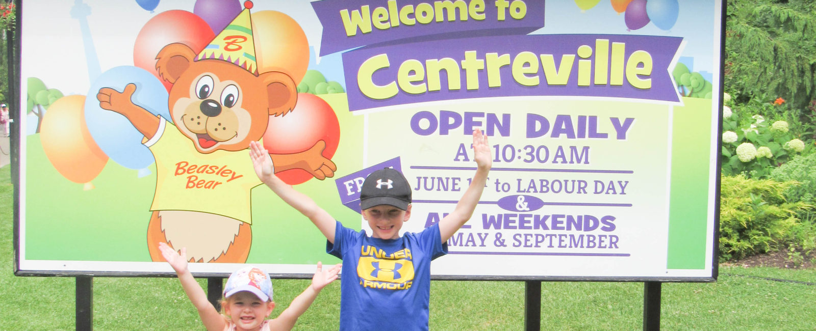 Our Visit to Centreville!