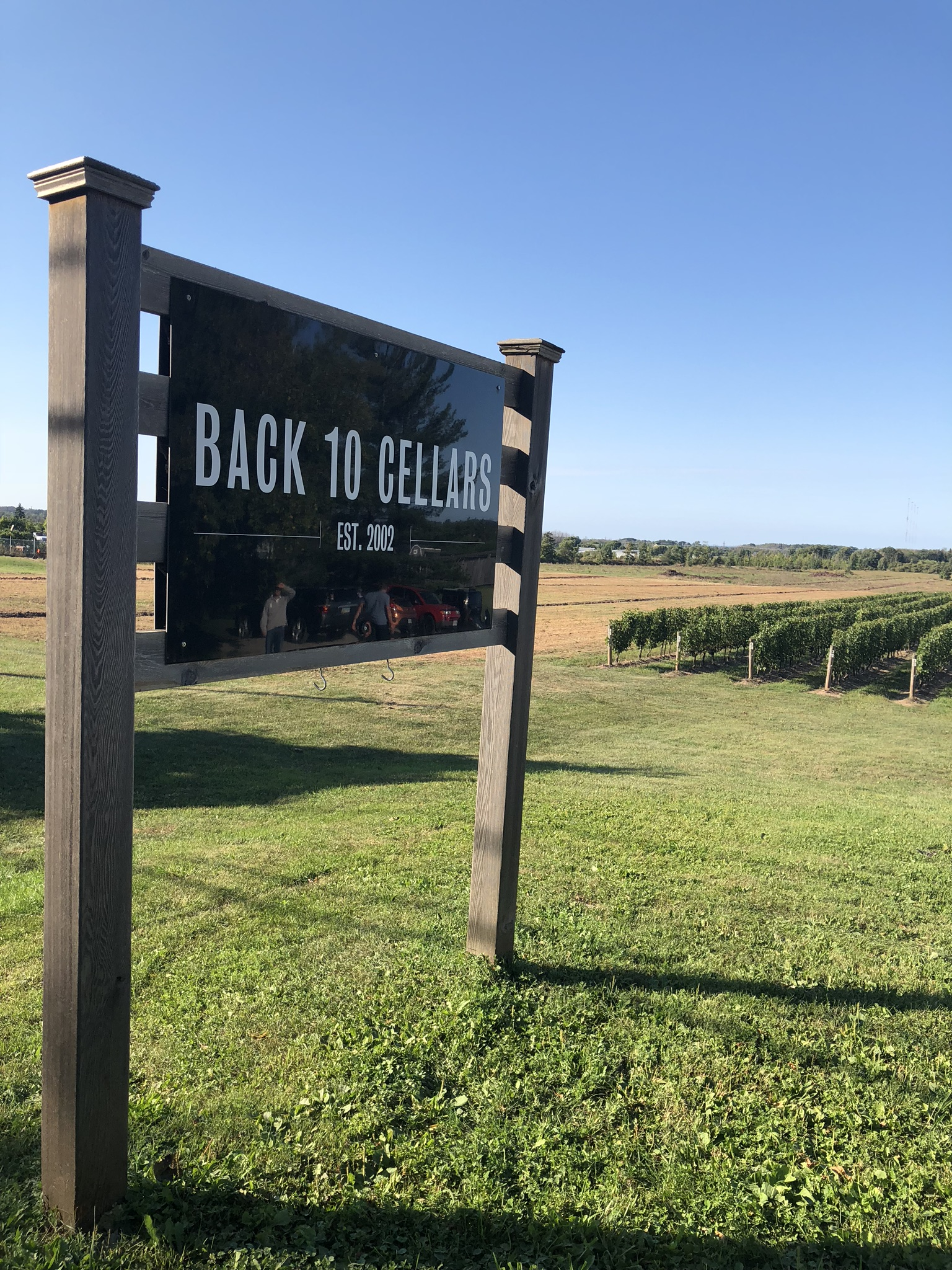 Back 10 Cellars Tour with Crush Wine Tours