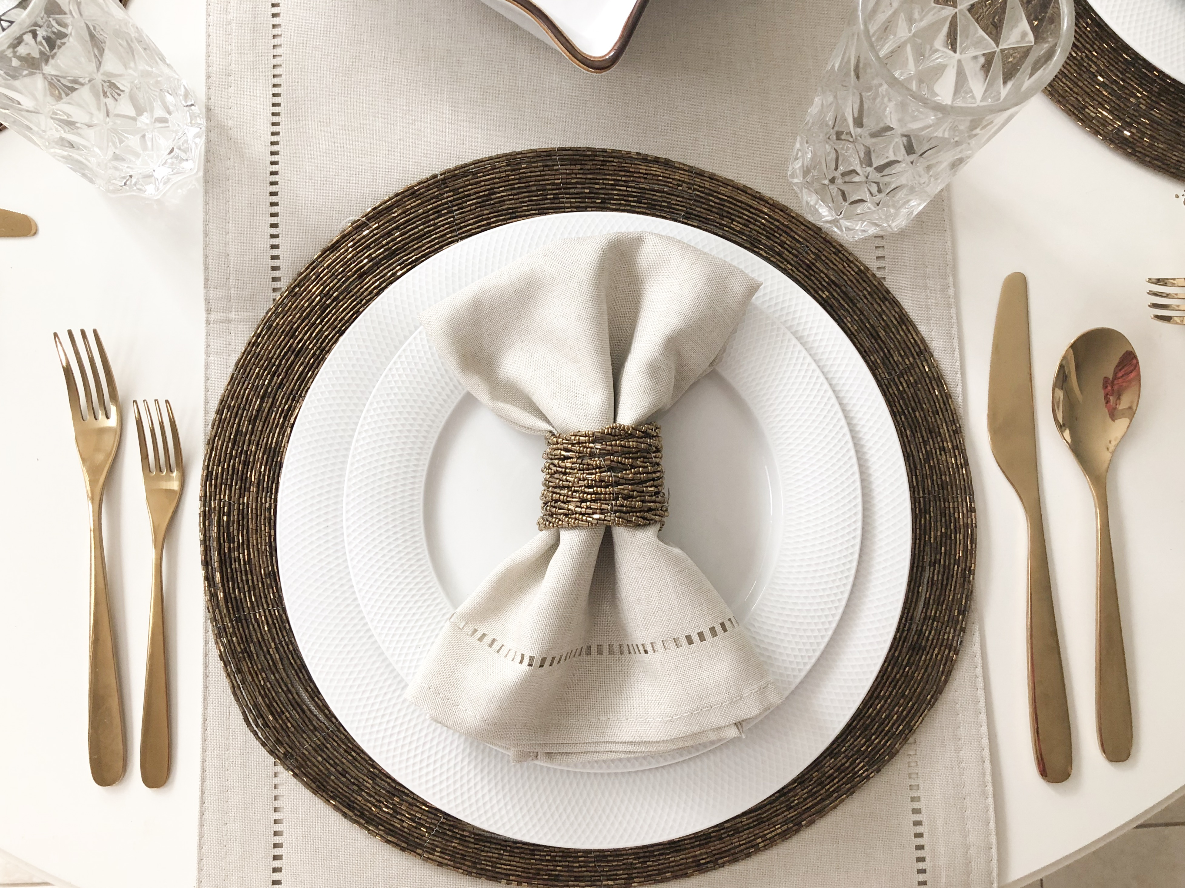 Fall Place Setting- Livin' Life with Style