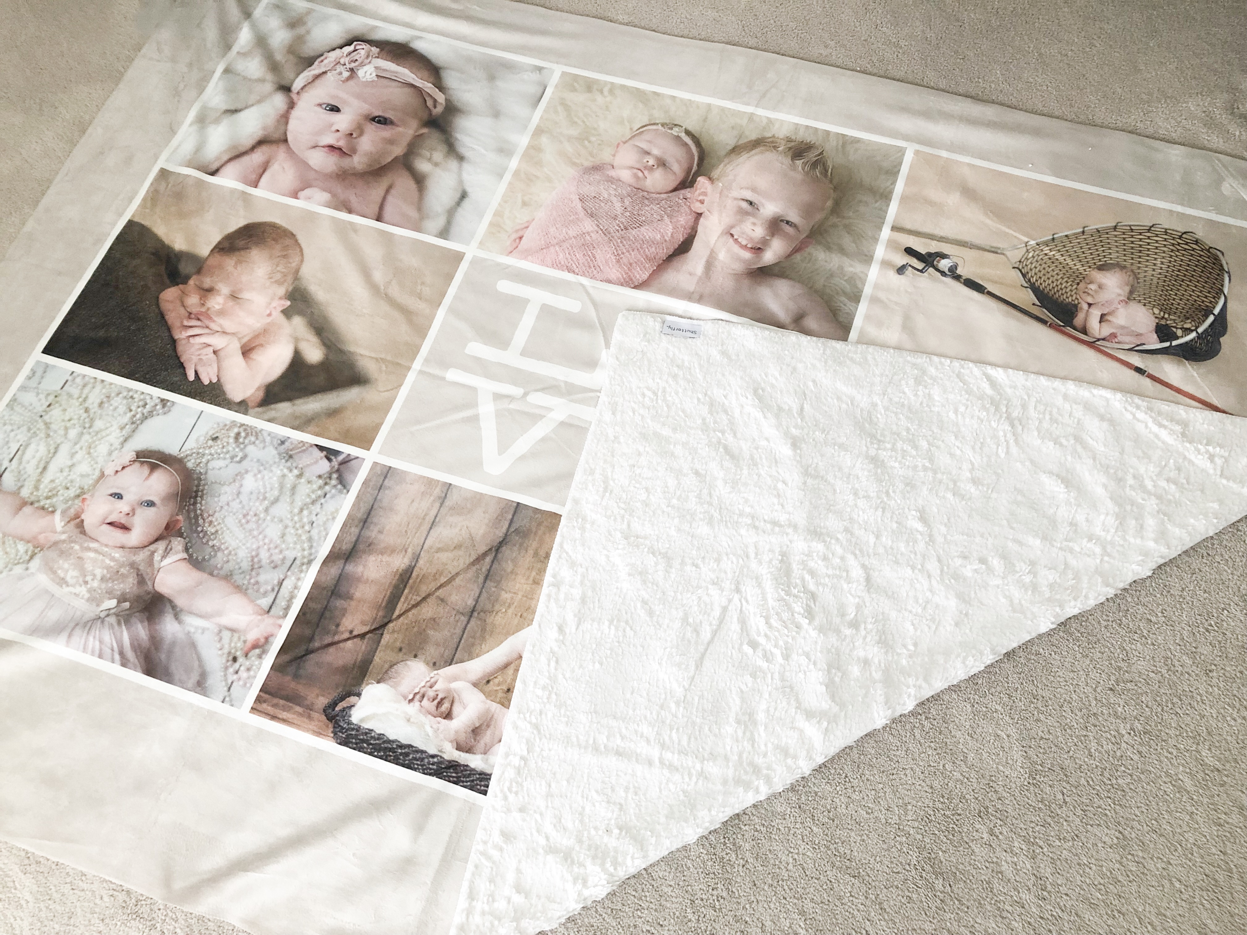 Custom Blanket from Shutterfly on livin life with style