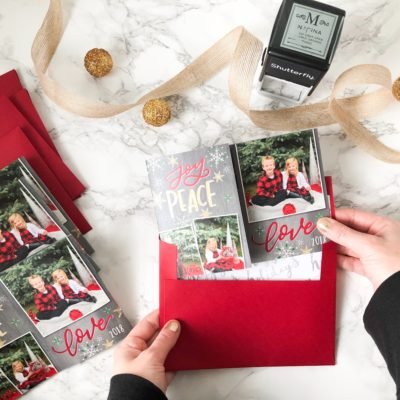 Our 2018 Christmas Cards from Shutterfly