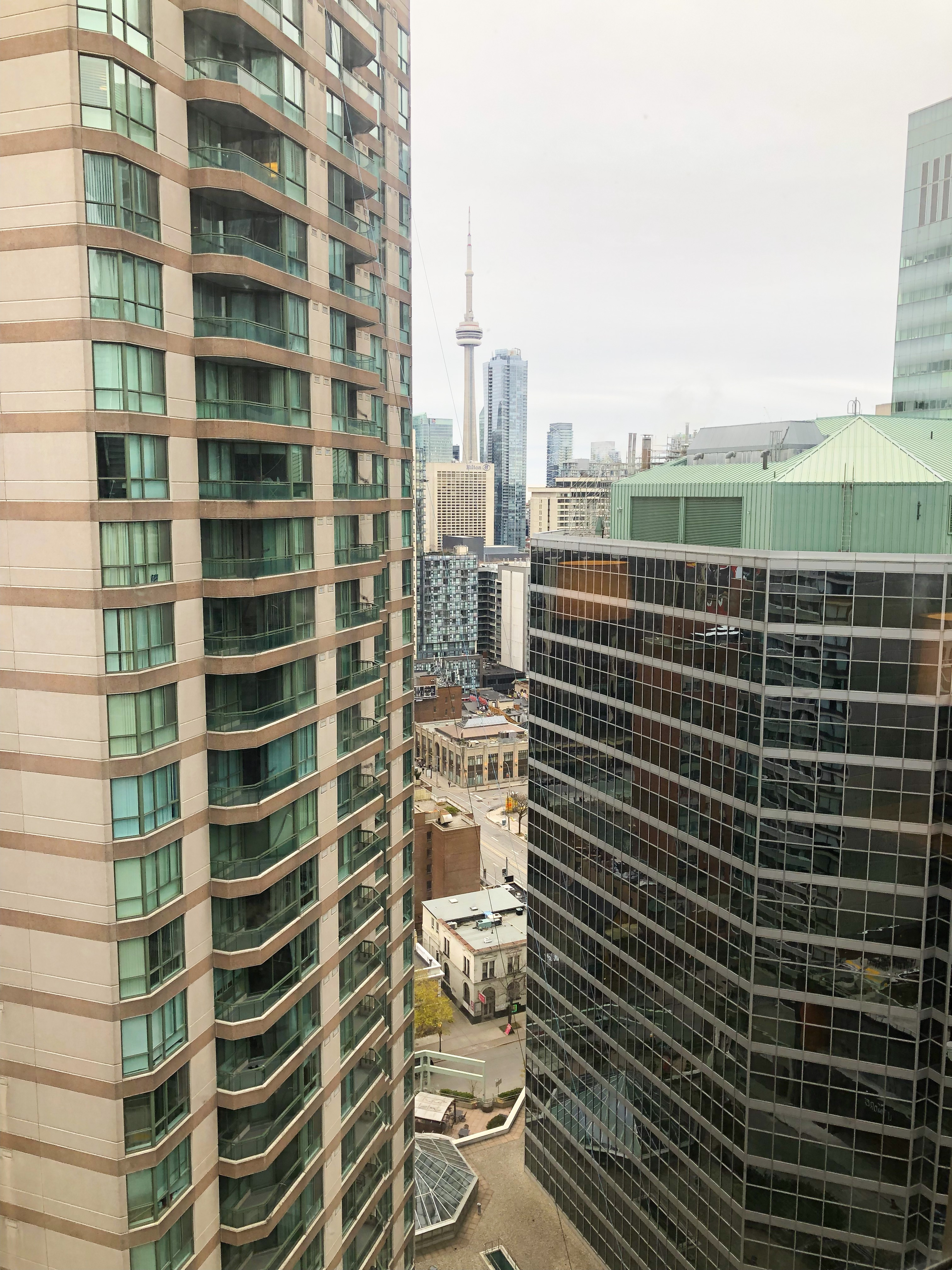 Chelsea Hotel Toronto room view on livin life with style