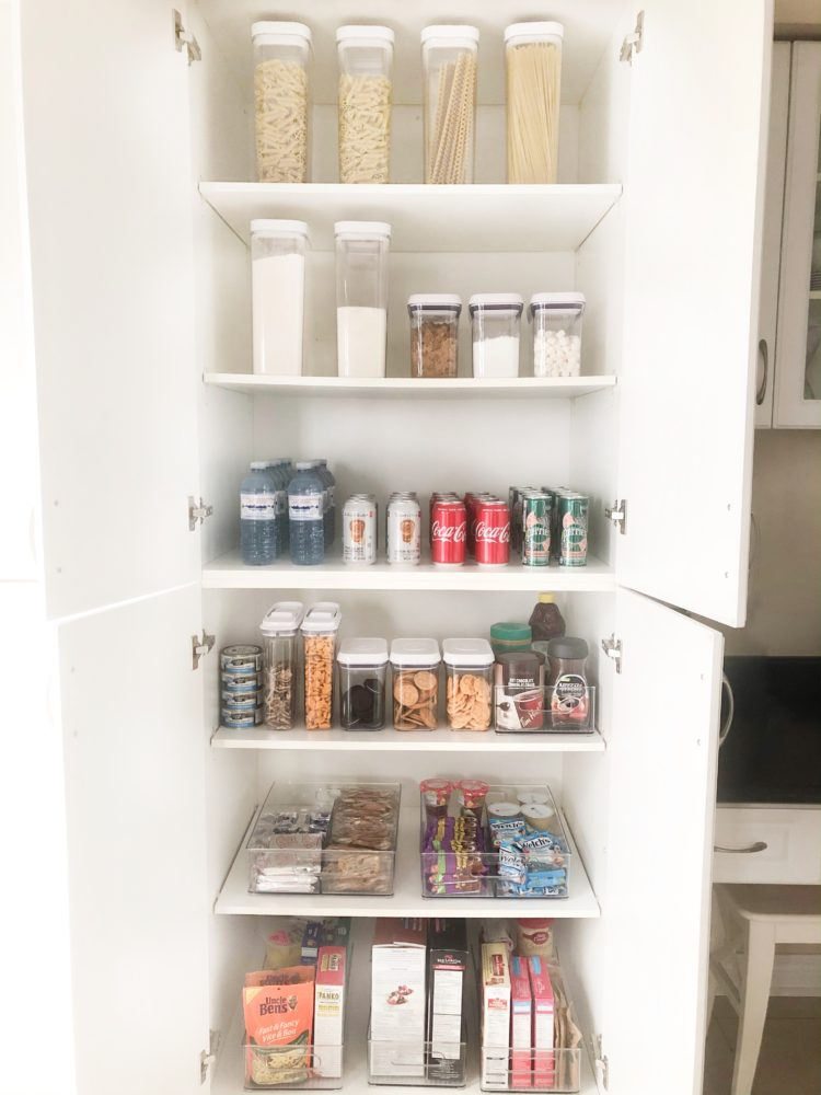 Kitchen Pantry Organization on Livin' Life with Style(After)