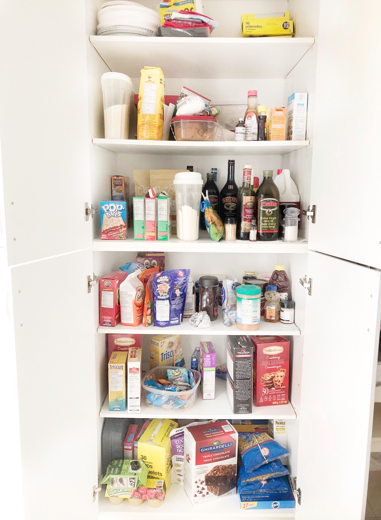 Kitchen Pantry Organization on Livin' Life with Style(Before)