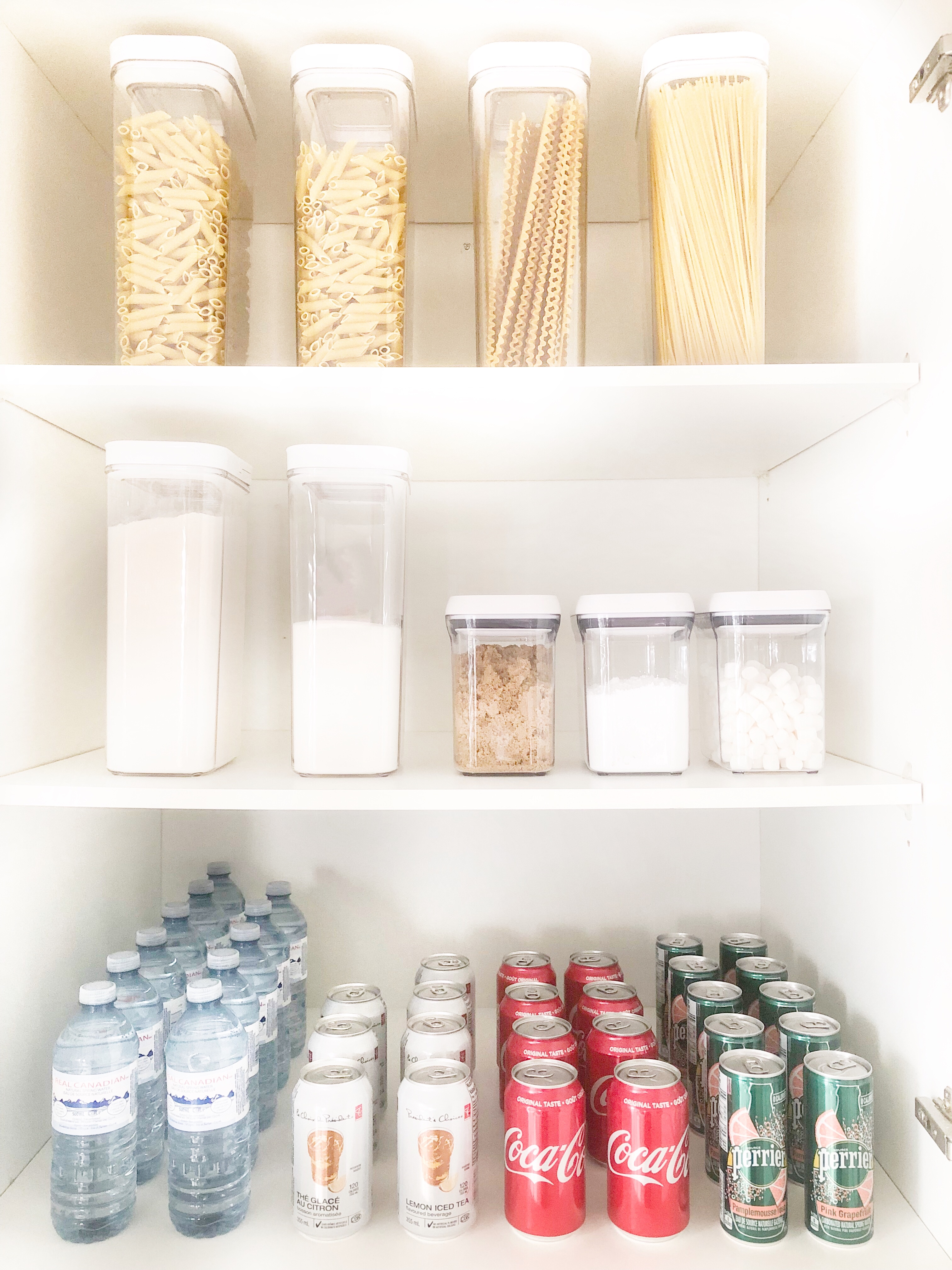 Kitchen Pantry Organization on Livin' Life with Style