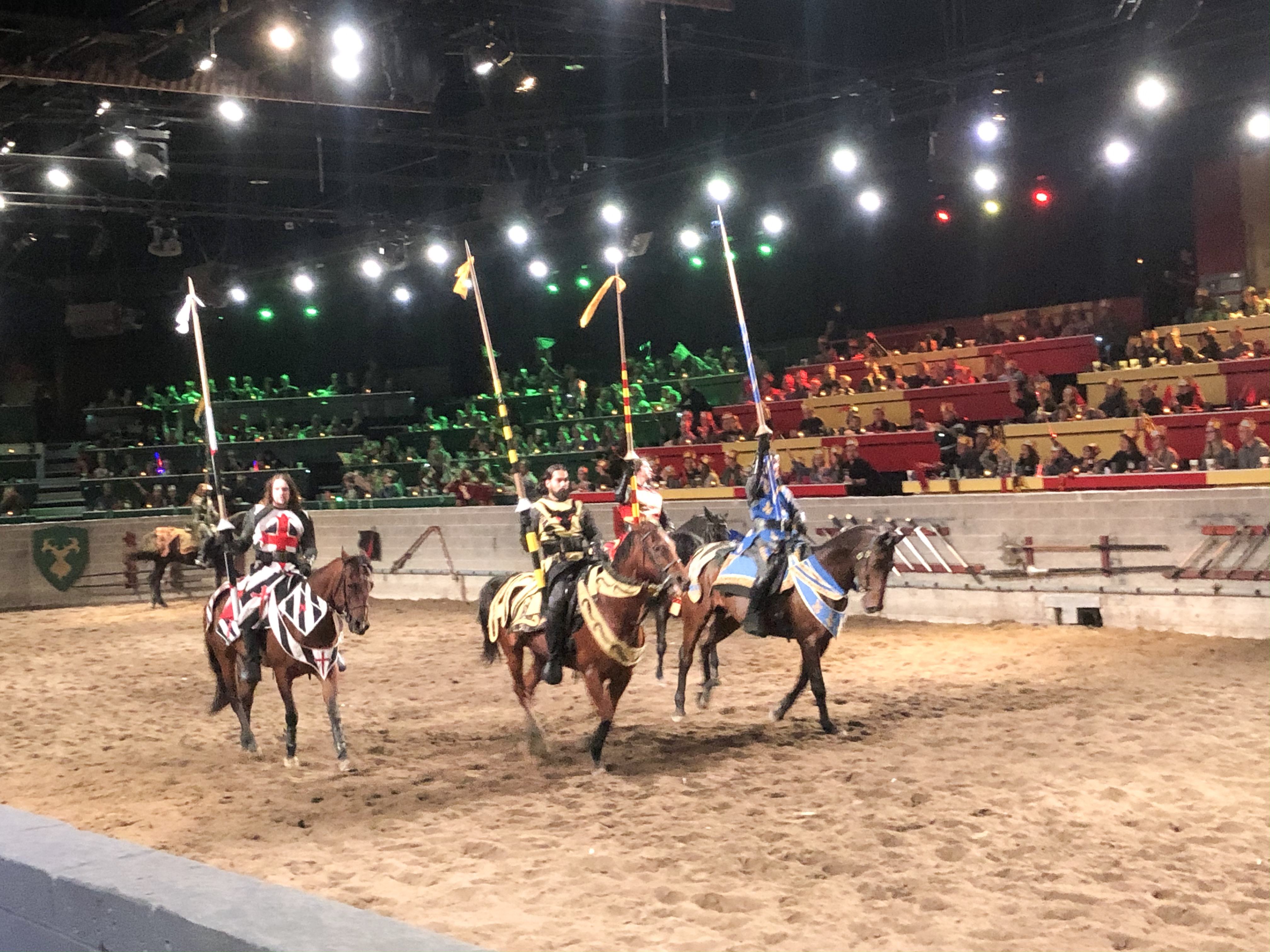 Medieval Times Dinner & Tournament review on Livin' Life with Style