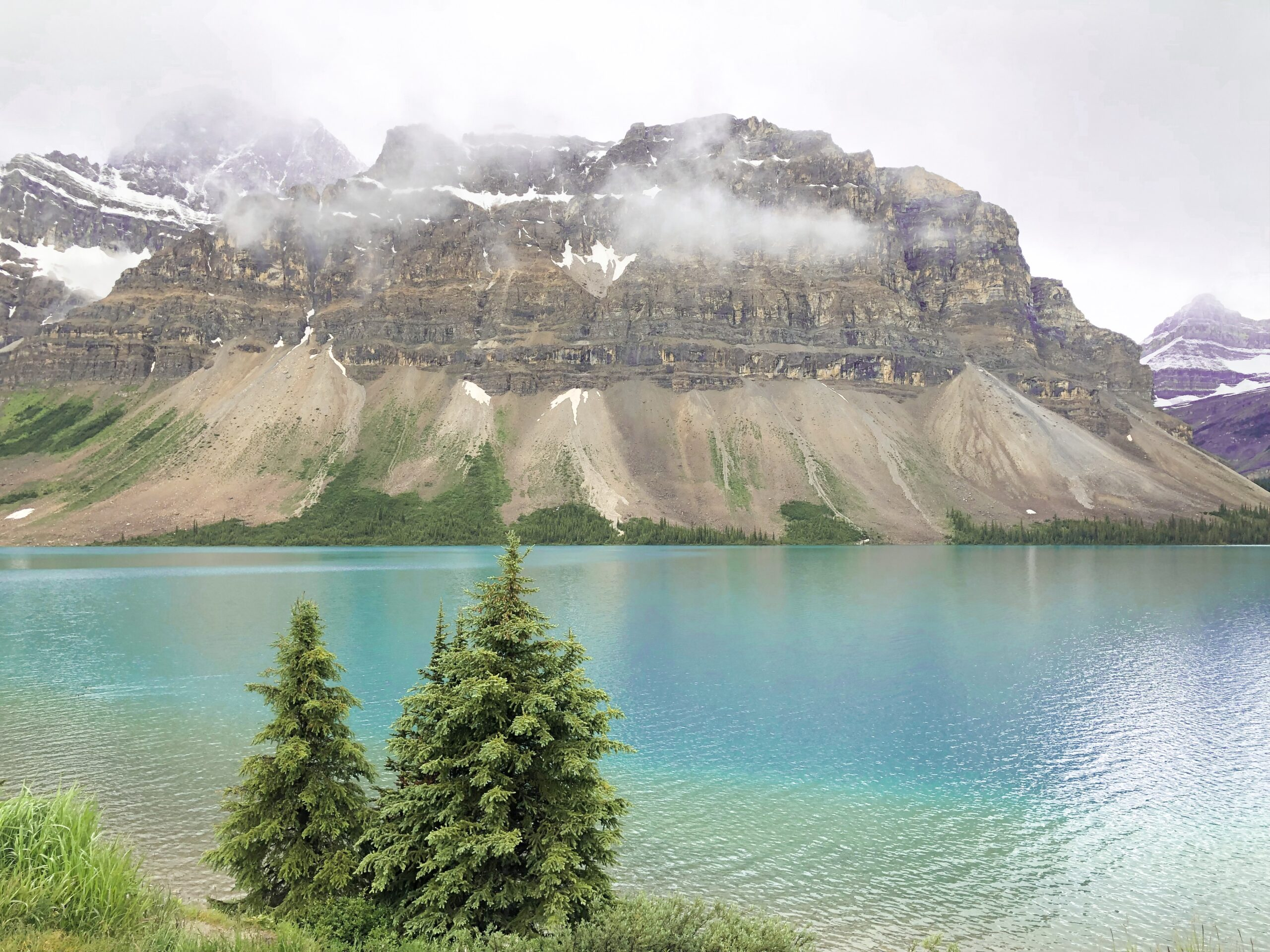 Banff Travel Guide: Bow Lake on Livin' Life with Style