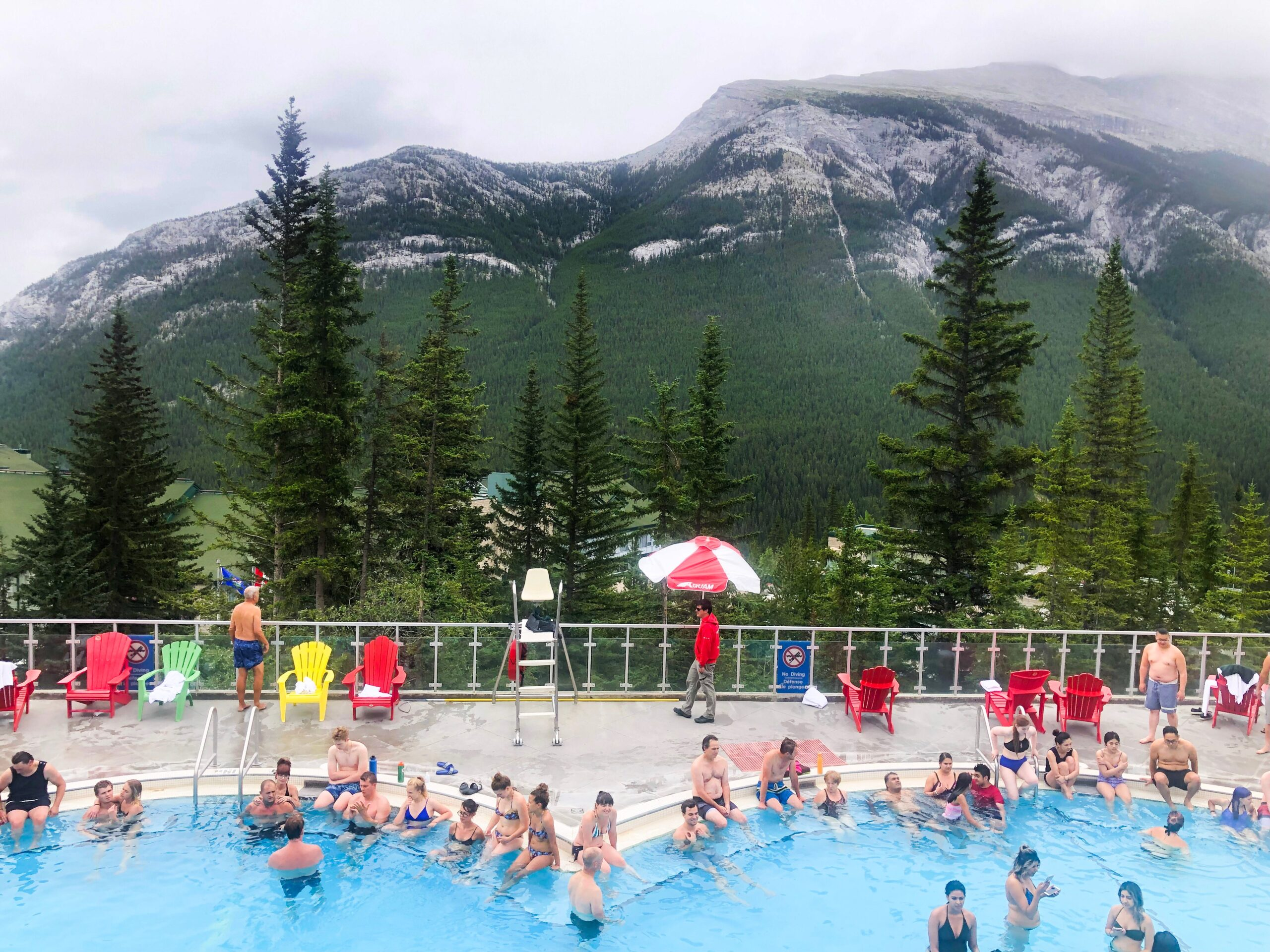 Banff Travel Guide- Banff Upper Hot Springs on Livin' Life with Style