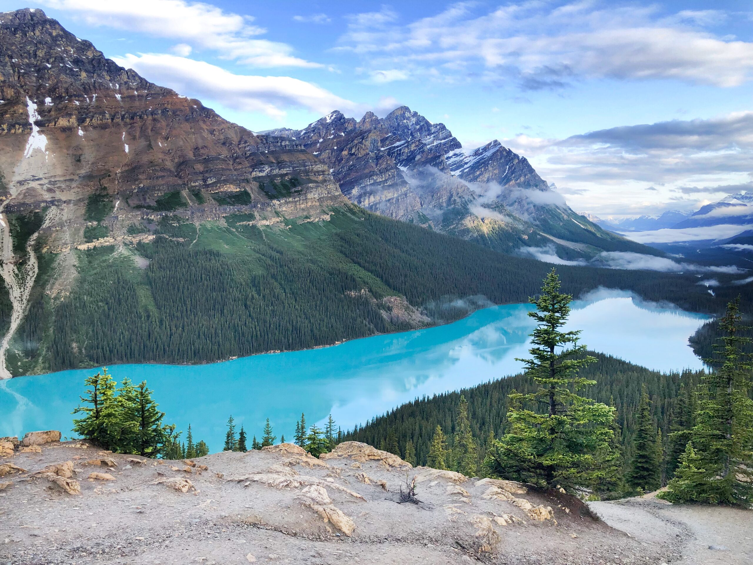 Banff Travel Guide- Peyto Lake on Livin' Life with Style