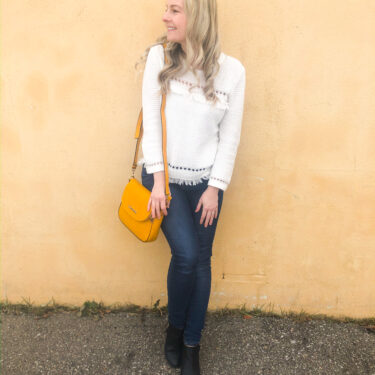 Poppy & Peonies bag on livin' life with style