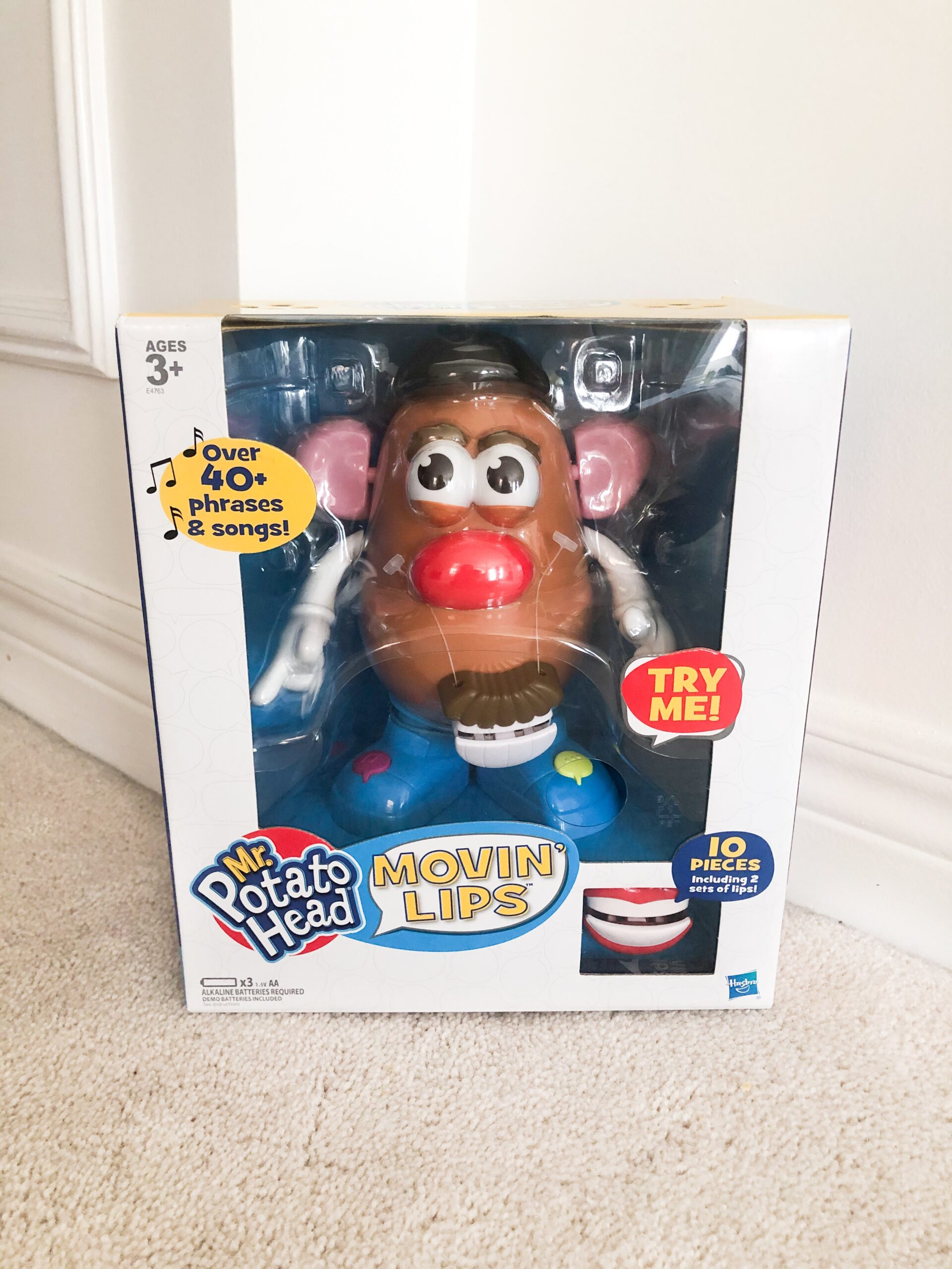 Hasbro Mr Potato Head Movin lips Review on Livin' life with Style