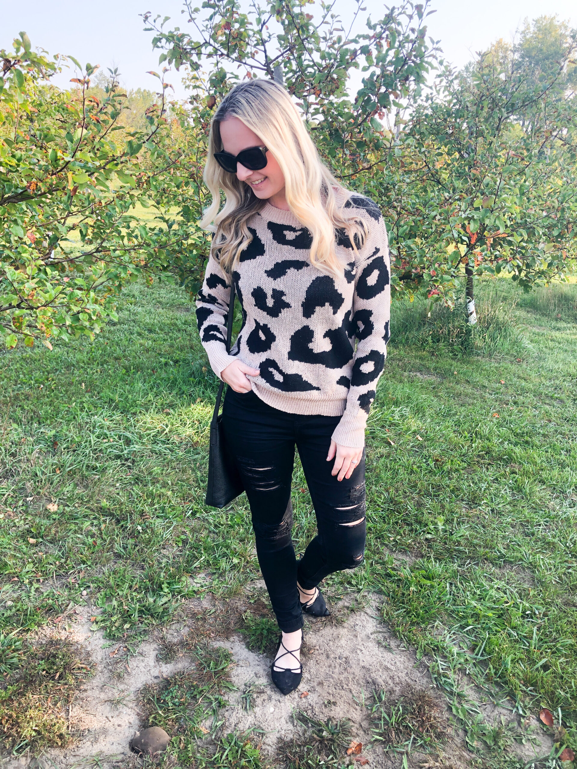 Leopard Sweater from Shein on Livin' Life with style